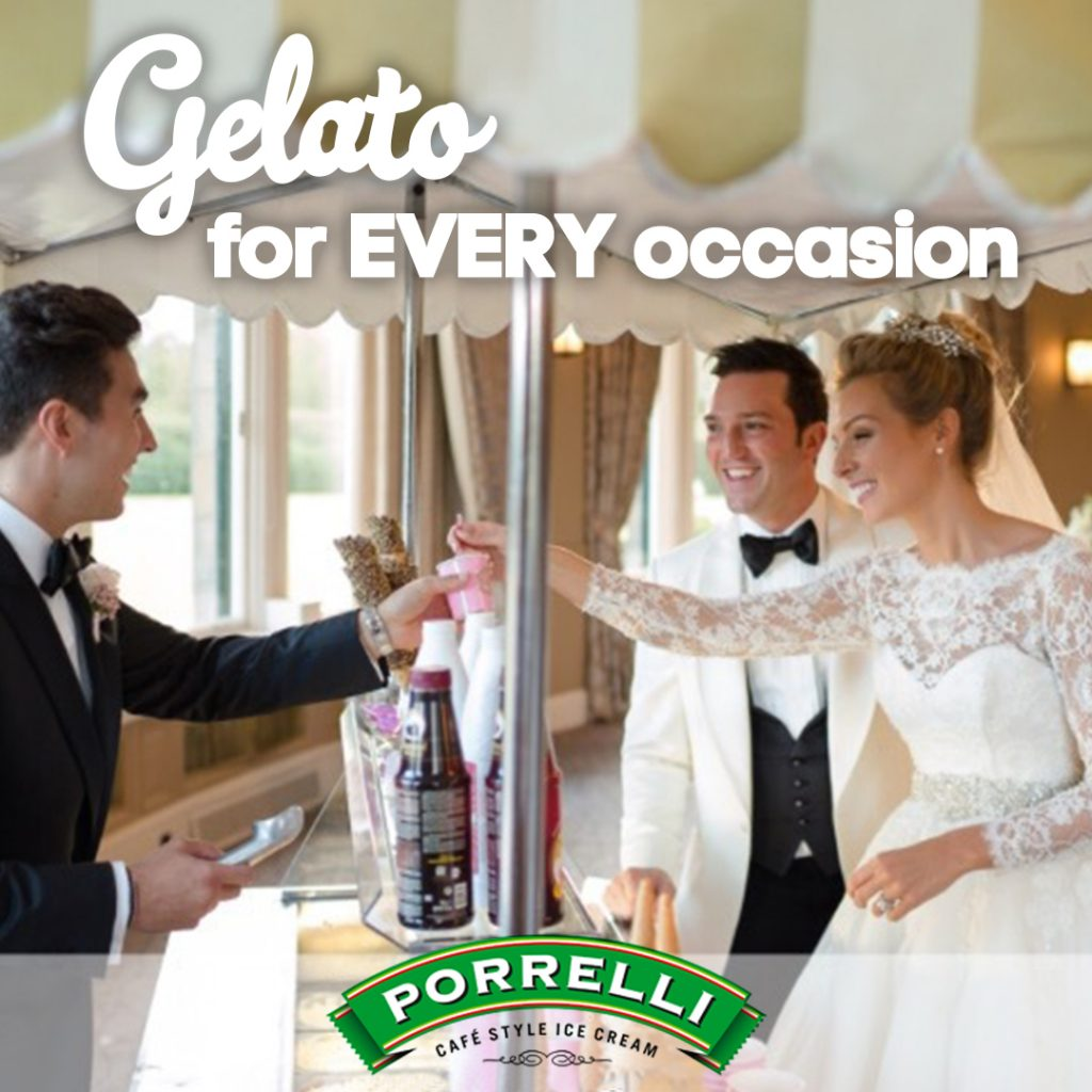 Porrelli Ice Cream Cart for Hire