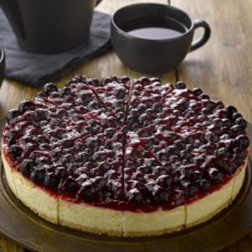 Blackcurrant & Prosecco Cheesecake – Gluten Free