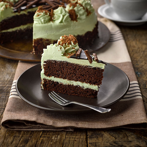 Mint chocolate Chip Cake Gluten Free