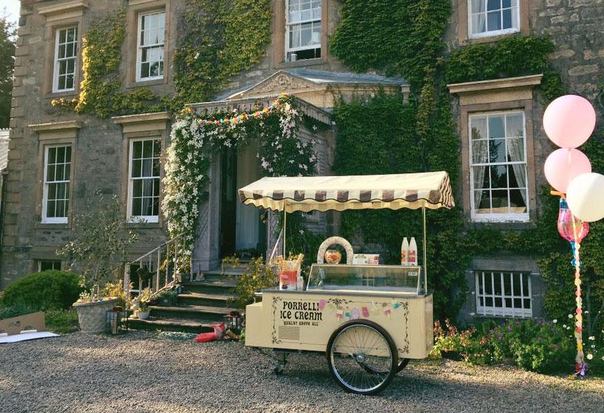 Porrelli Ice Cream Cart